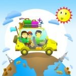family travelling and the effect upon child