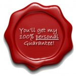 MH - my personal guarantee